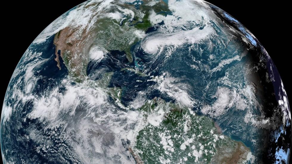 Imelda se debilita a depresión tropical en su paso por Texas - Imelda tormenta tropical Texas NHC