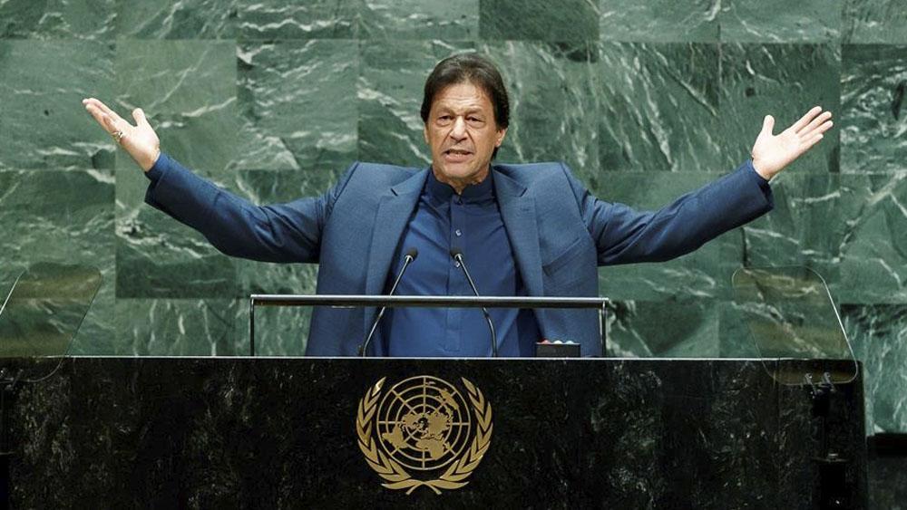 Avión de primer ministro pakistaní aterriza de emergencia en Nueva York - avión primer ministro pakistaní, Imran Khan