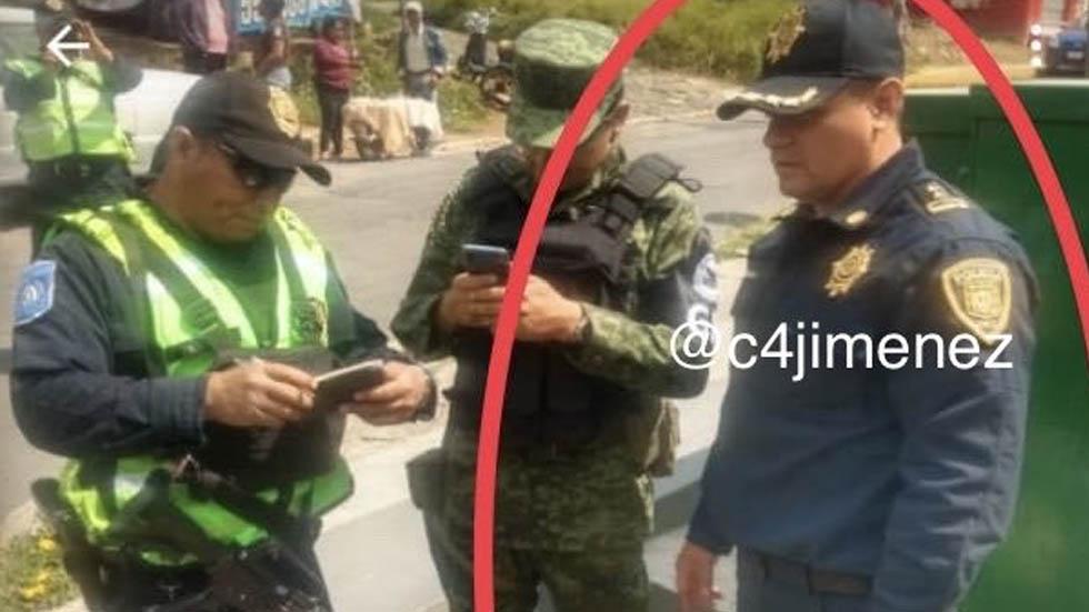 Acusan a jefe de sector de SSC en Tlalpan de acosar a oficial - Jefe de Sector Tlalpan SSC acoso mujer policía