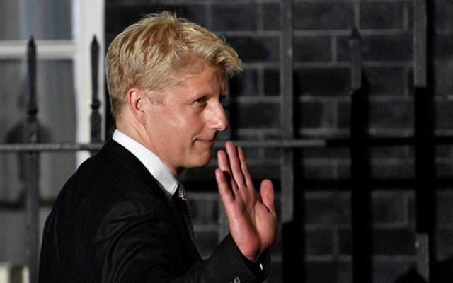 Renuncia hermano de Boris Johnson como diputado por Brexit - Jo Johnson