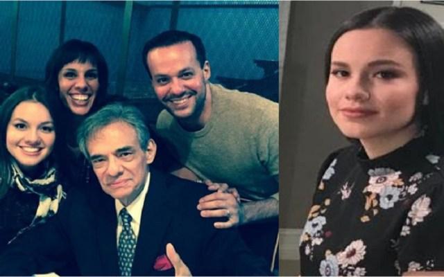 Consulado mexicano ofrece apoyo a la familia de José José - José José (Centro) y sus hijos, José Joel, Marysol y Sarita (der.). Foto Especial.