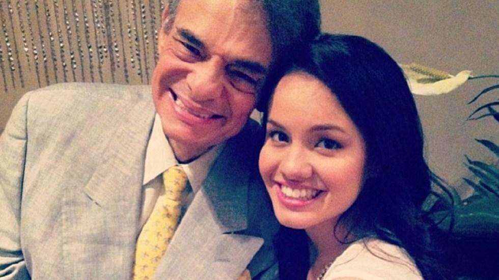 Habrá homenaje a José José en México y Miami, asegura Sarita - José José y su hija Sara. Foto de @sari_oficial