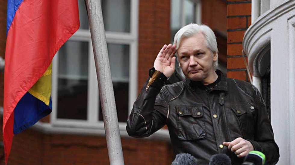 Afirma AMLO que se hizo una propuesta para asilo político a Julian Assange, fundador de WikiLeaks - Julian Assange. Foto de Archivo EFE.