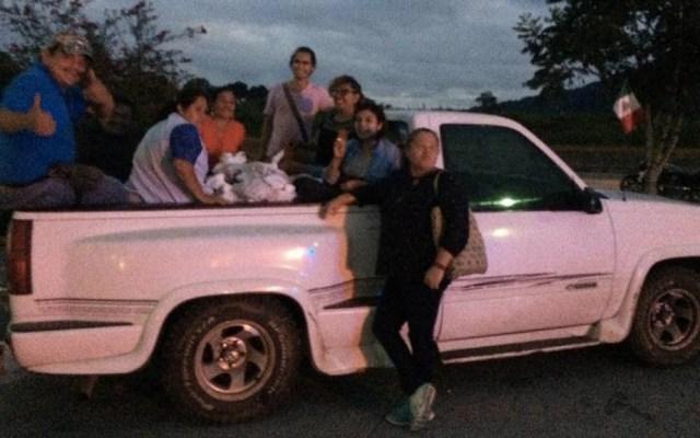 Roban camioneta de 'Las Patronas' en Córdoba - Las Patronas Veracruz camioneta Córdoba