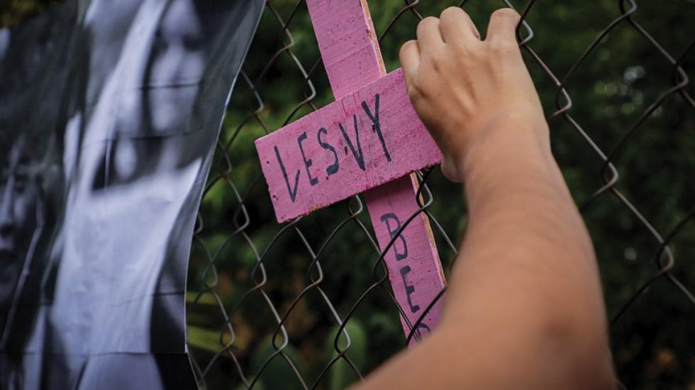 Lesvy murió asfixiada por ahorcamiento: forense - Foto de Notimex