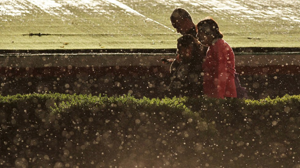 Graniza en distintos puntos de la Ciudad de México - Lluvia Ciudad de México tormentas lluvias Granizo