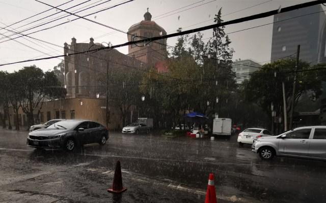 Alerta Amarilla por lluvia en ocho alcaldías capitalinas - Lluvias en la CDMX
