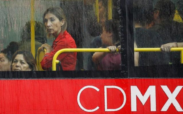Lluvia afecta al menos siete alcaldías de la Ciudad de México - Foto de Notimex
