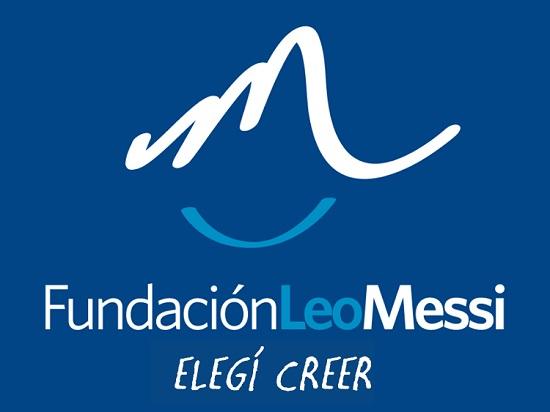Logo de la Fundación Leo Messi. Foto de @FundacionLeoMessi