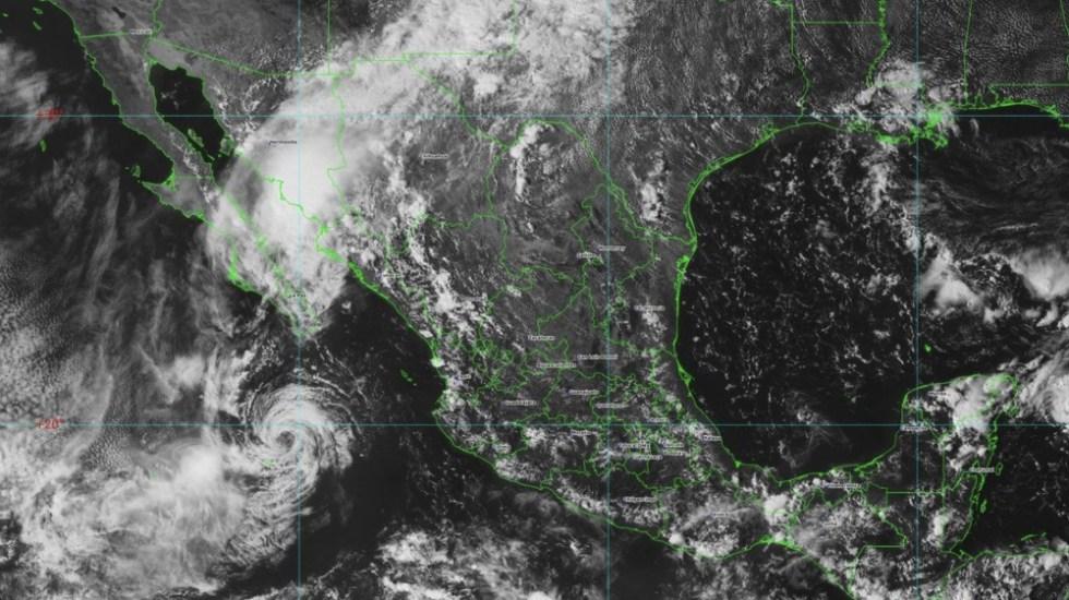 Lorena ya se debilitó a tormenta tropical - Foto de @conagua_clima