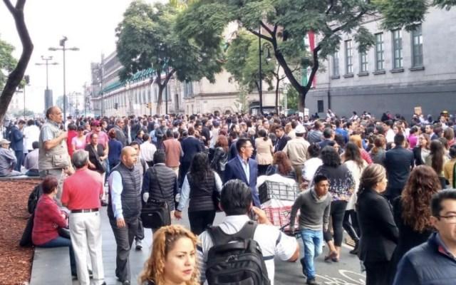 Más de 73 mil inmuebles participaron en macrosimulacro - Foto de Archivo de la @CNPC_MX
