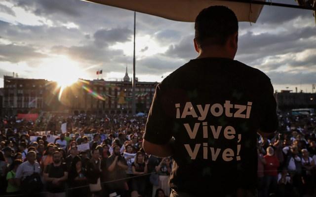Padres de normalistas de Ayotzinapa participarán en marcha del 2 de octubre - Marcha Ayotzinapa Ciudad de México