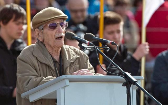 Murió Marko Feingold, el sobreviviente más viejo del Holocausto - Marko Max Feingold. Foto de Archivo / EFE