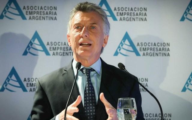 Macri reconoce errores y justifica medidas económicas - Mauricio Macri Argentina