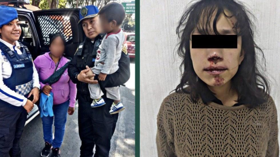 Investigan a mujer que intentó robar a bebé en Metro Cuauhtémoc - Foto de @i_alaniis