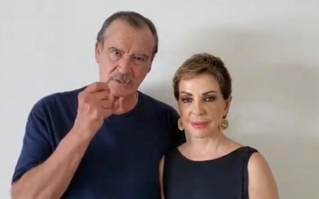 "Vicente Fox invita a ""cambiar a México"" para 2021 - Mensaje de Vicente Fox a propósito de la Independencia de México. Captura de pantalla"