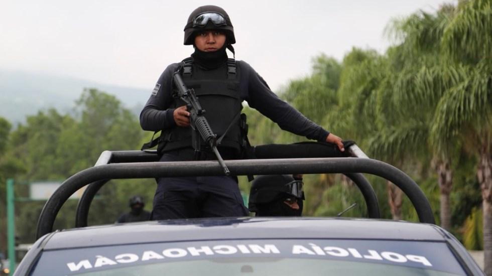 Jornada violenta deja 11 muertos en Michoacán - Michoacán Policía SSP