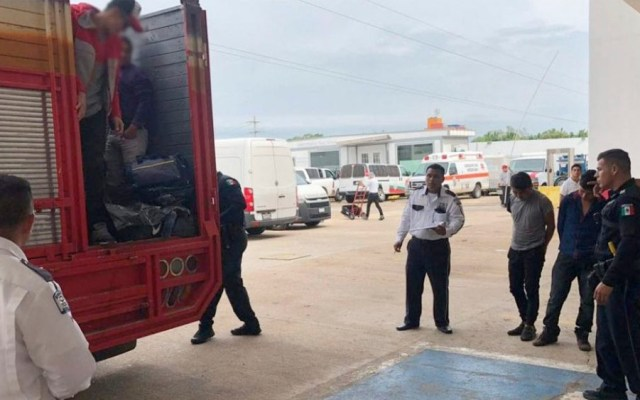 Rescatan a 45 migrantes en Veracruz - migrantes veracruz