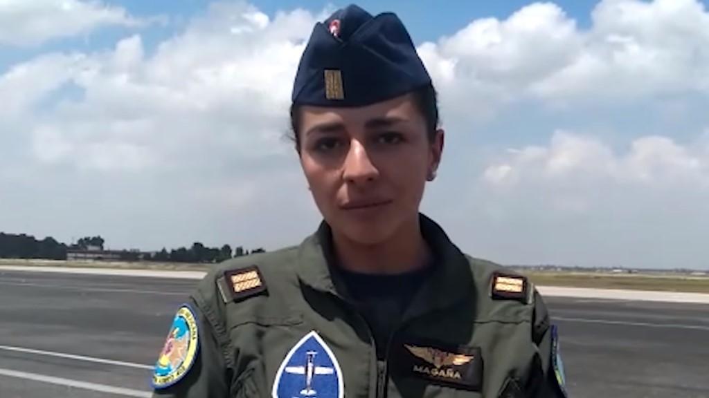 Piloto Miriam Magaña. Captura de pantalla / El Universal
