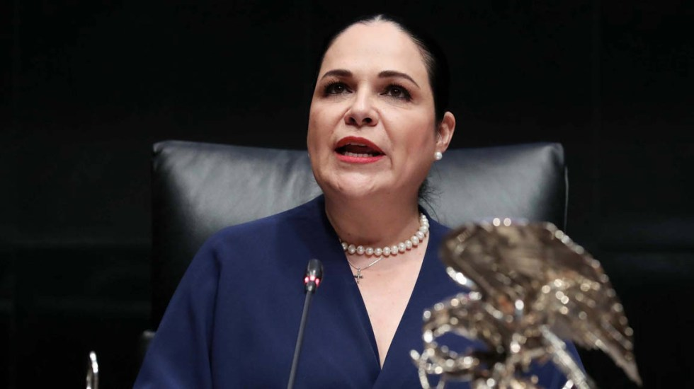 Tribunal revoca resolución de Morena que anuló elección en el Senado - Mónica Fernandez Balboa Senado TEPJF Morena