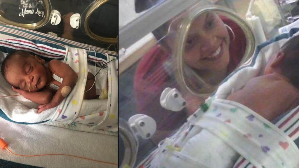 Mujer con ovario poliquístico logra tener bebé pese diagnóstico - Mujer Delawre embarazo da a luz 2