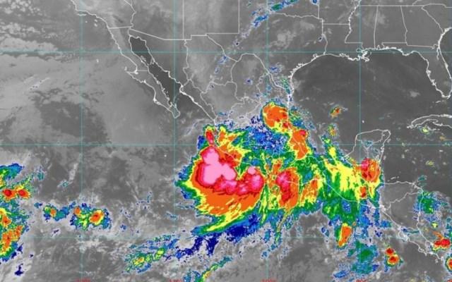 Alerta en estados del occidente por paso de Narda - Narda tormenta tropical