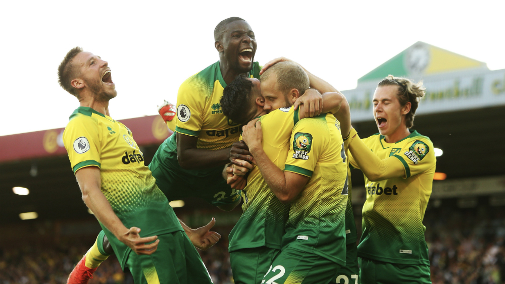 Norwich City le quita el invicto a Manchester City en Premier League. Noticias en tiempo real