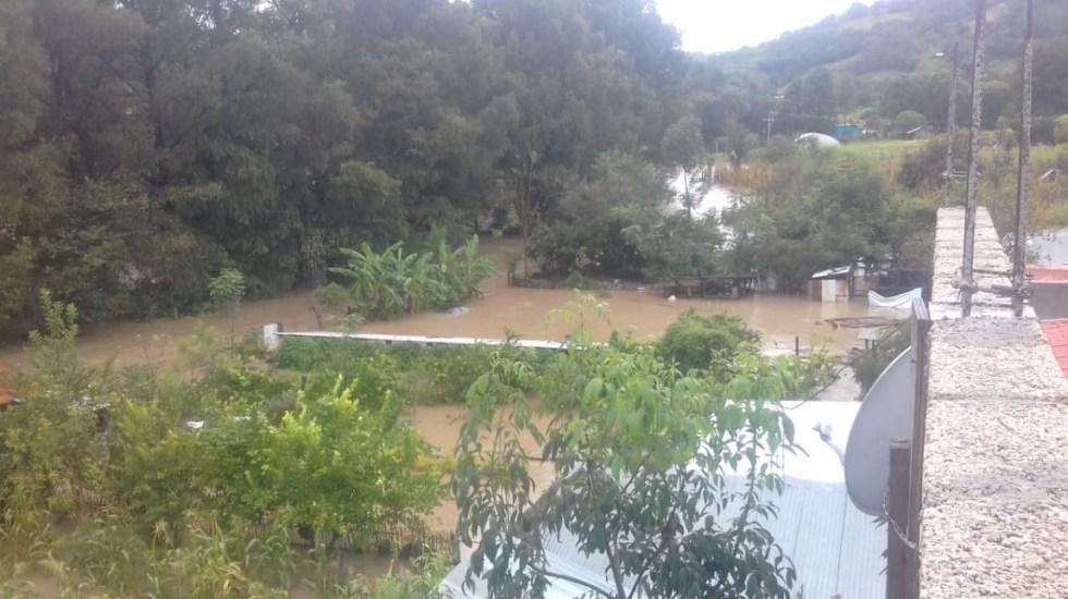 Suspenden clases en Oaxaca por fuertes lluvias - Oaxaca inundaciones lluvia