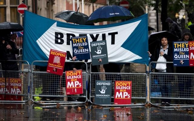 """Tribunal Supremo considera """"ilegal"""" suspensión del Parlamento británico - Foto de EFE/EPA/WILL OLIVER."""