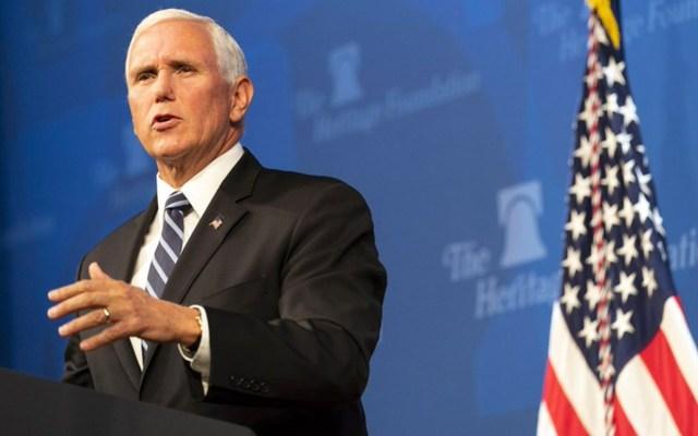 Vital para EE.UU. ratificación del T-MEC: vicepresidente Mike Pence - Vicepresidente Mike Pence