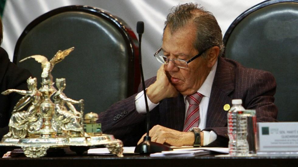 México necesita una nueva Constitución, asegura Muñoz Ledo - Porfirio Muñoz Ledo Diputados Morena