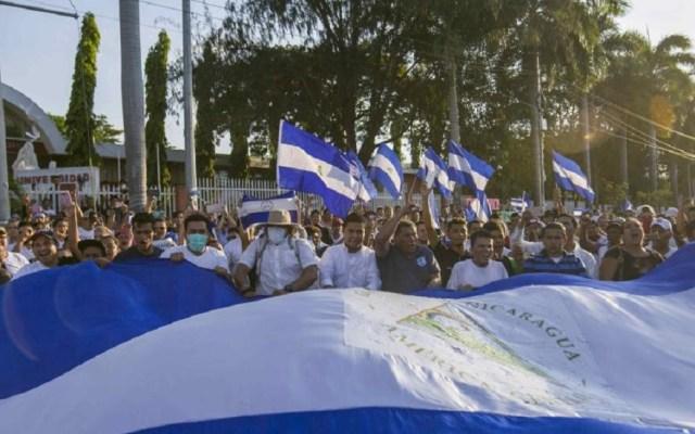 Proponen reforma electoral para establecer la no reelección en Nicaragua - Protestas en Nicaragua. Foto de EFE