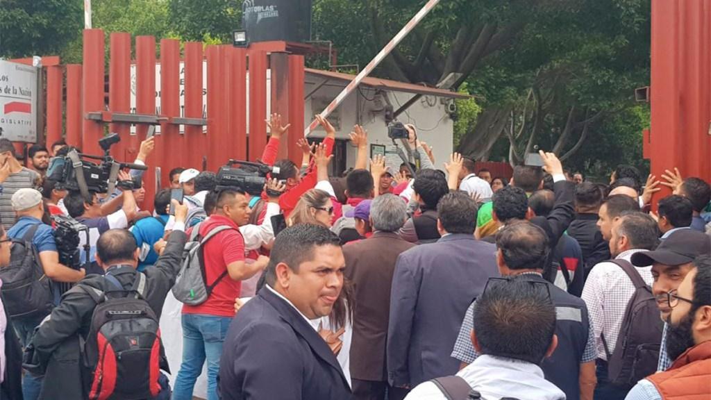 Crearán protocolo de actuación por manifestaciones en San Lázaro. Noticias en tiempo real