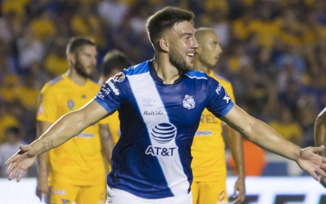 Puebla da la sorpresa y derrota a Tigres en el Volcán - Puebla Tigres partido Liga MX 3