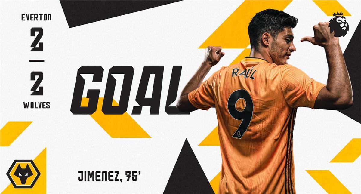 Raúl Jiménez anota en la derrota de Wolverhampton