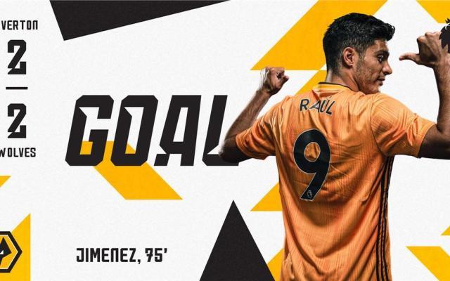 #Video Raúl Jiménez anota nuevamente con los Wolves