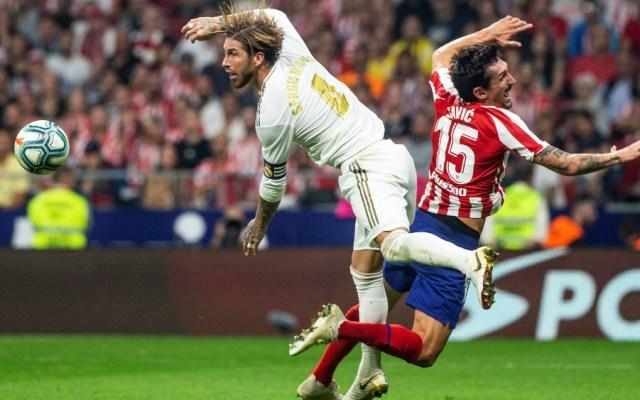 Atlético de Madrid y Real Madrid firman empate sin goles - Foto de EFE