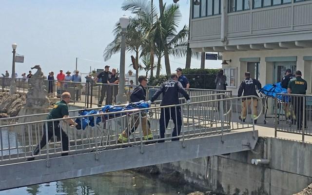 Recuperan cadáveres de 33 víctimas de incendio de barco en California - Rescate de cuerpos de barco incendiado en California, EE.UU. Foto de Noozhawk
