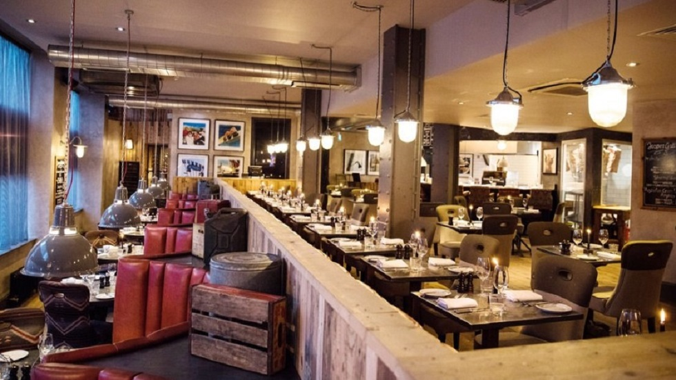 Restaurante del hotel Malmaison en Manchester. Foto de Malmaison Manchester / Google Maps