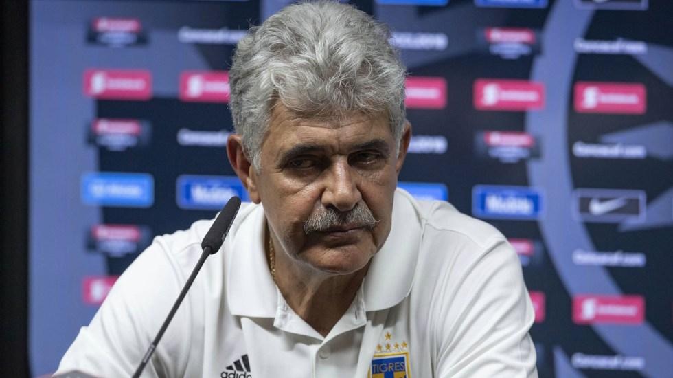 A Tigres le falta mucho para pensar en el título: 'Tuca' Ferretti - Ricardo Ferretti Tigres UANL