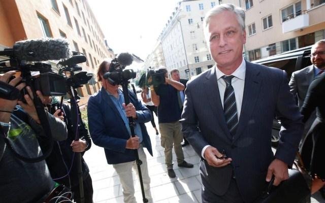 Asesor de Seguridad Nacional de Donald Trump dio positivo a COVID-19 - Robert O'Brien fue el enviado del Gobierno de Estados Unidos para la negociación sobre la detención en Estocolmo, Suecia, del rapero A$AP Rocky. Foto de Foto: TT News Agency.