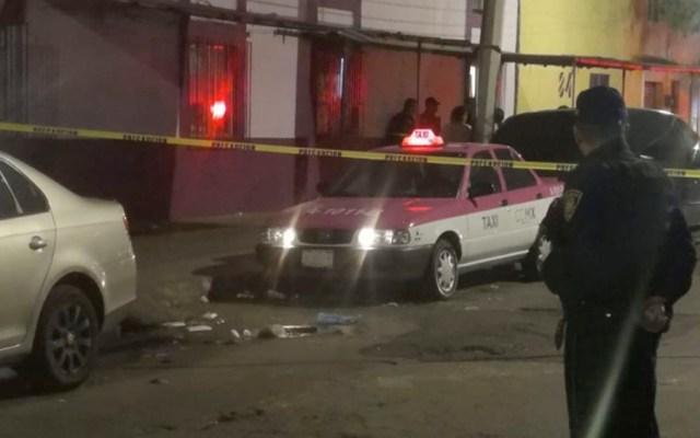 Asesinan a taxista en Venustiano Carranza - taxista asesinado v carranza