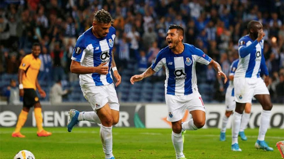 #Video Asistencia de Corona en triunfo del Porto en la Europa League - tecatito corona asistencia porto