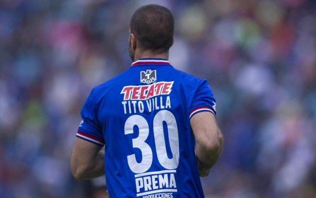 'Tito' Villa revela su intempestiva salida de Cruz Azul - Tito Villa Cruz Azul