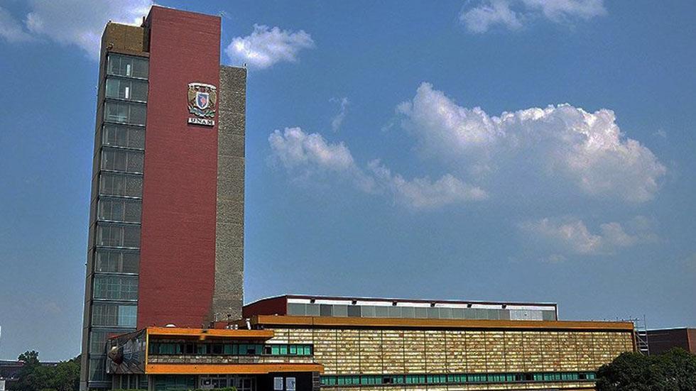 UNAM presenta denuncias por vandalismo en dos prepas y en Filosofía - Torre de Rectoría de la UNAM. exámenes de admisión