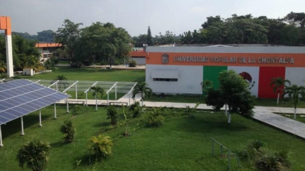 Congelan cuentas de universidad de Tabasco por Estafa Maestra - Foto de Universidad Popular de la Chontalpa