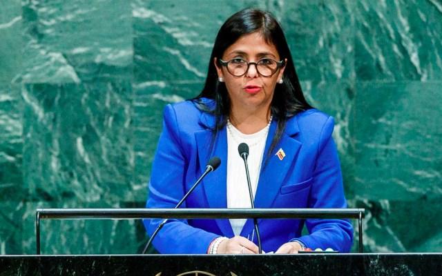 EE.UU. no comprende cómo vicepresidenta de Venezuela llegó a Madrid - Vicepresidenta de Venezuela, Delcy Rodríguez