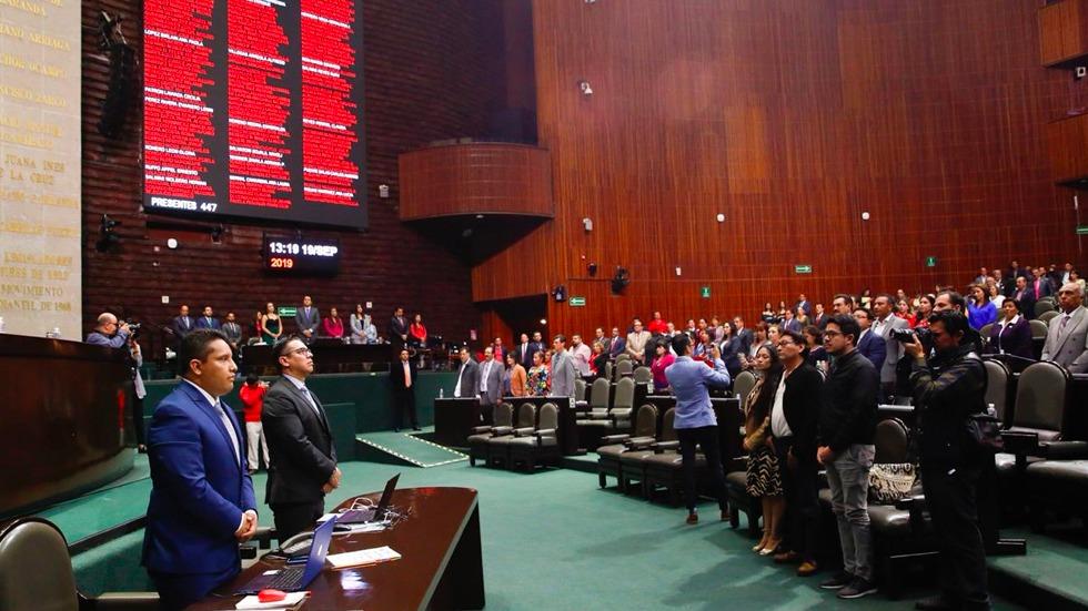 Diputados que no votaron en lo particular la Ley General de Educación