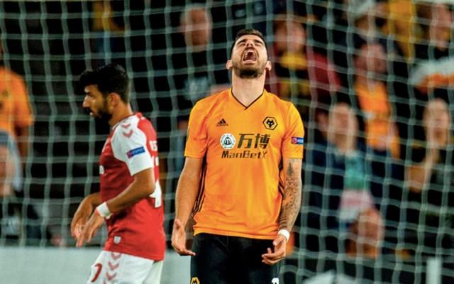 Wolves caen 1-0 ante el Braga en la Europa League - El Wolverhampton cayó en su debut en la Europa League. Foto de EFE/EPA/Peter Powell