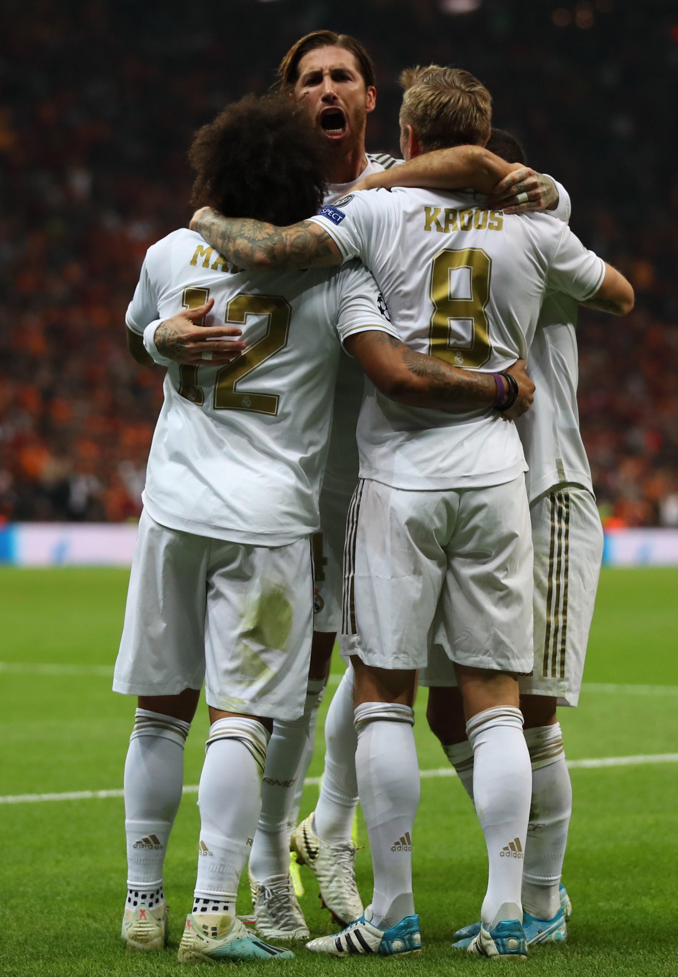 Real Madrid venció alGalatasaray con un tanto de Toni Kroos
